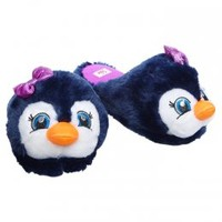 Furry Penguin Face Slippers | Slippers | Slippers & Socks | Shop Justice