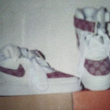 Designer Inspired Nike GGs Air Force 1 Mid