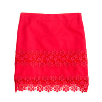 Daisy lace mini - Mini - Women's skirts - J.Crew