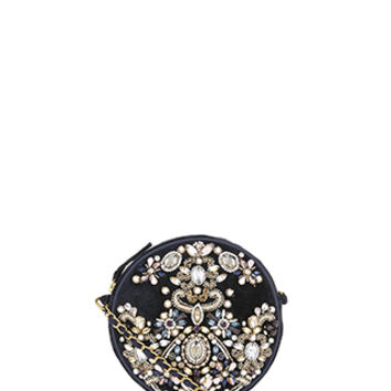 Accessorize | Baroque Jewelled Circle Cross Body Bag | Multi | One Size