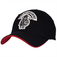 Sons of Anarchy - Reaper Logo Black Fitted Cap