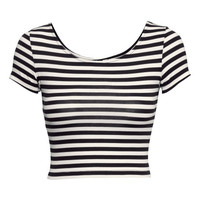 Cropped Top - from H&M