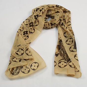 Perfect Louis Vuitton LV Woman Fashion Accessories Sunscreen Cape Scarf Scarves