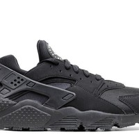 spbest Nike Air Huarache Triple Black GS