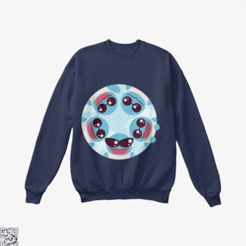Squirtle Squad, Pokemon Crew Neck Sweatshirt