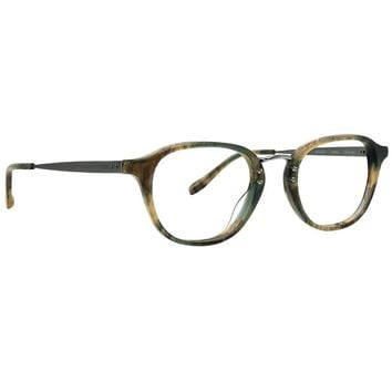 Badgley Mischka - DeSoto 48mm Olive Eyeglasses / Demo Lenses
