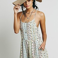 Free People Womens Sun Day Romper