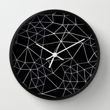Segment Zoom Black and White Wall Clock by Project M