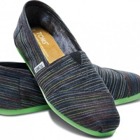 Lime Pop Stripe Women's Classics