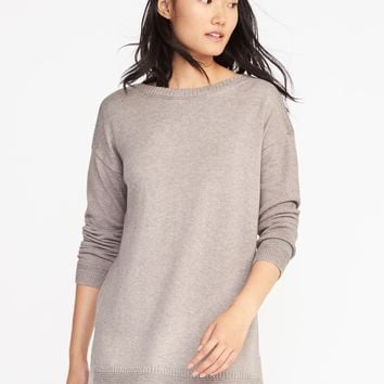 Boat-Neck Tunic Sweater for Women | Old Navy