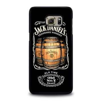 jack daniels samsung galaxy s6 edge plus case cover  number 3