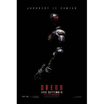 Dredd 3D Movie poster Metal Sign Wall Art 8in x 12in