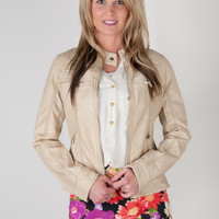 Faux Leather Jackets - 2 colors