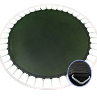 """Upper Bounce 14 Trampoline Replacement Jumping Mat / 8 Row Stitching fits 14 FT Round Frames with 96 V-Rings Using 7"""""""" springs"""