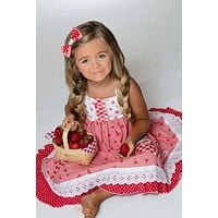 Strawberry Sweetheart Dress