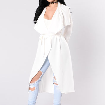 Business Casual Coat - Off White