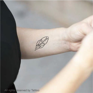 Rocket - Temporary Tattoo, tattoos, T270
