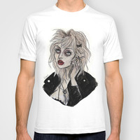 Courtney love cobain T-shirt by Lucas David | Society6