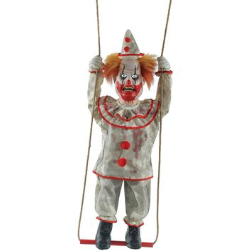 Swinging Happy Clown Doll Anim