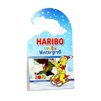 Haribo Winter Greetings Door Hanger, 3.5 oz (100 g)