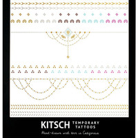 Metallic Jewelry Tattoos by Kitsch {Henna 2}
