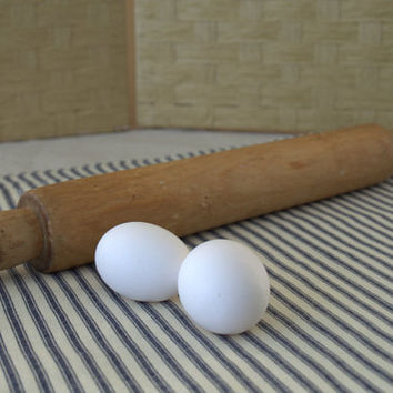 Primitive Wood Rolling Pin, Old Rolling Pin, Modern Country Kitchen Decor