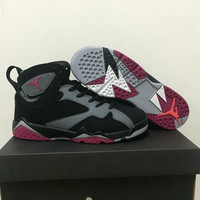 Air Jordan 7 Fuchsia Flash GS Women Basketball shoes