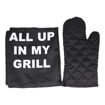 In My Grill Apron Set