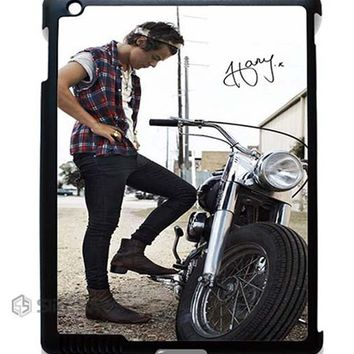 Harry Styles And His Bike ipad case, Best Ipad Mini Case, iPad Pro case, Custom Cases For Iphone 6, Phone Cases For Samsung Galaxy S5