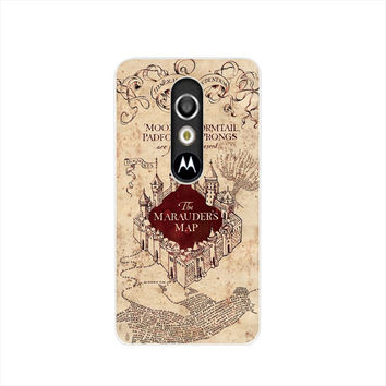 19989 MARAUDERS MAP harry potter cell phone case cover for For Motorola Moto G3 G4 X+1 PLAY PLUS ONE style
