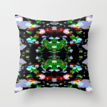 Existence Throw Pillow by Phinilez