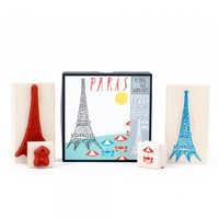 Paris Stamp Set : Branch: Sustainable Design for Living