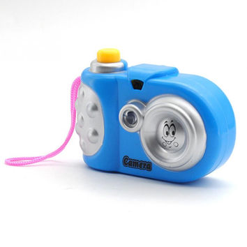 Baby Toys Light-Emitting Toy camera Cartoon Projection Camera Children Educational Toy
