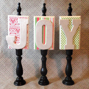 Wooden Candlestick Letters - Personalized - Customized - Home Decor