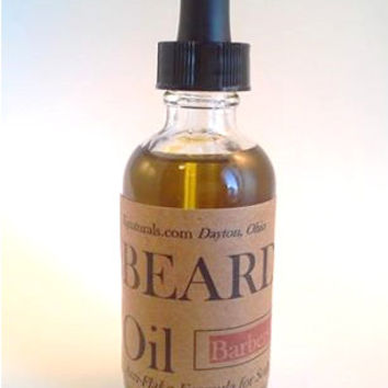 Beard & Scalp Oil, Infused with organic and ayurvedic herbs and oils for a soft, conditioned, healthy-looking beard