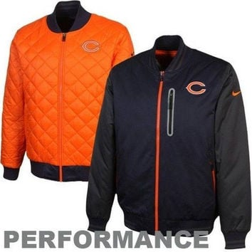 Chicago Bears NFL NWT Nike Destroyer Reversible Jacket Da Bears NFC Football new with tags