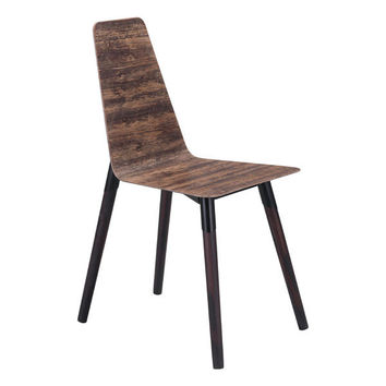ZUO Ignore dining chair distressed brown