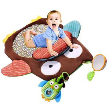 Owl Baby Infant Tummy Time Crawling Play Mat