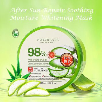 Best Face Care concentrated Aloe Vera 98% Soothing Gel Cream 300ml 0.56 fl.oz
