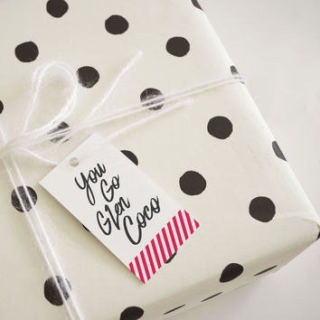 You Go Glen Coco Gift Tag (Set of 4)