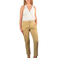 ANKLE LENGTH TROUSERS WITH MATCHING BELT-ID.29948E