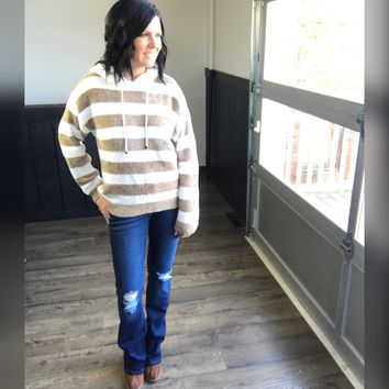 Striped Ultra Soft Pullover