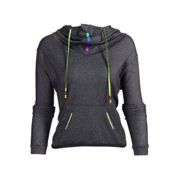 Streetwear Workout Long Sleeve Hooded Jacket