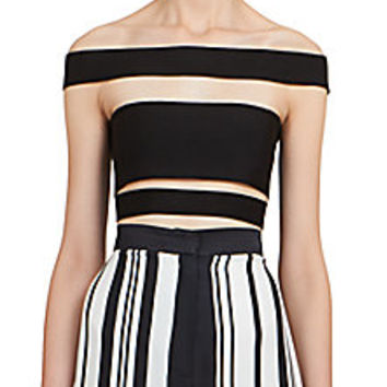 Balmain - Strappy Bandage Top - Saks Fifth Avenue Mobile