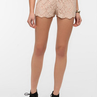 Urban Outfitters - Pins and Needles Scalloped Lace Short