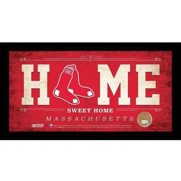 MDIGMS9 Boston Red Sox 10x20 Home Sweet Home Sign