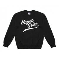 Hayes Grier Athetic Crew Neck Sweatshirt - BLV Brands