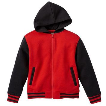ONETOW Varsity Fleece Full-Zip Hoodie - Boys 8-20, Size:
