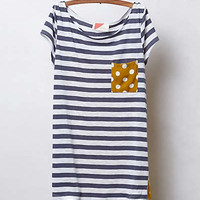Anthropologie - Pattern Pop Tee