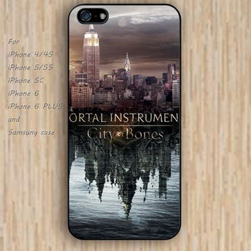 iPhone 5s 6 case mortal instruments colorful phone case iphone case,ipod case,samsung galaxy case available plastic rubber case waterproof B363